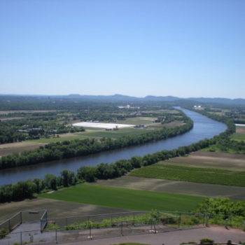 View of Connecticut River from Mount Sugarloaf